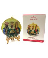 Hallmark Keepsake Los Tres Reyes Magos Glass Ornament The Three Kings 20... - $18.99