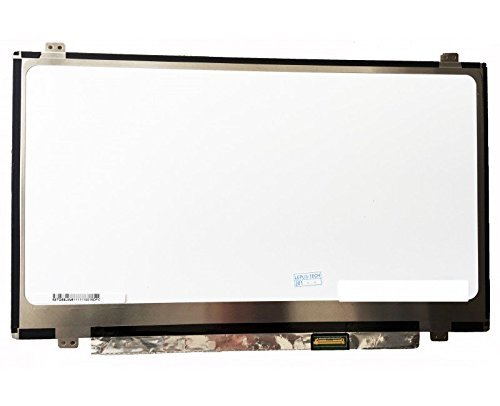 LCD Panel! Compatible With N140BGE-E43 LCD Screen Glossy 14.0 1366X768 Slim EDP