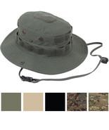 Tactical Boonie Hat, Ripstop Wide Brim Operator Bucket Cap Sun Fishing T... - $15.99+