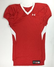 Under Armour Performance Havoc Training Football Jersey Men's Large Red ... - $26.52