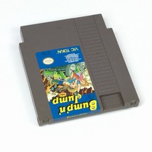 Bump n Jump Nintendo Burnin Rubber 1982 NES Video Game Cartridge Only B13-4 - $14.54