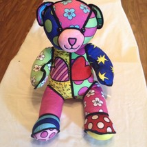 Build A Bear eggs spring floral hearts multi color 18 inch New - $29.99
