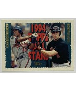 1994 Topps All Stars Cal Ripken + Wil Cordero #387 Topps Baseball Card - $2.16