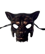Scary Copper Wolf Masquerade Party Halloween Mask by KBW - $33.53