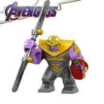 Thanos with Double-Edge Sword and Infinity Gauntlet Marvel Endgame Minifigures - $7.99