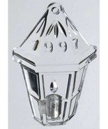 1997 WATERFORD Crystal Memories Ornament Collection ~ Lantern with Candl... - $14.03