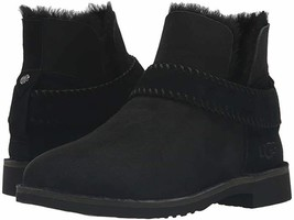 New UGG Women's Size 9 McKay Black Suede Fur Ankle Boots - $109.00