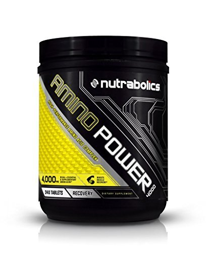 Nutrabolics Amino Power 4000, 340 Tablets