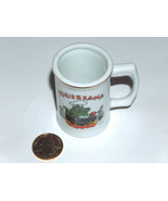 New Orleans Louisiana Ceramic Alligator Croc Gumbo Cook Mug Style Shot G... - $9.88