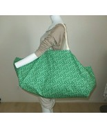 New Large Yoga Bag for Mat Blanket Blocks Handmade BAG ONLY Green Shoppi... - $29.65