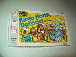 the Fargo North Decoder game 1978 Milton Bradley/Sesame Street NEVER PLA... - $29.70