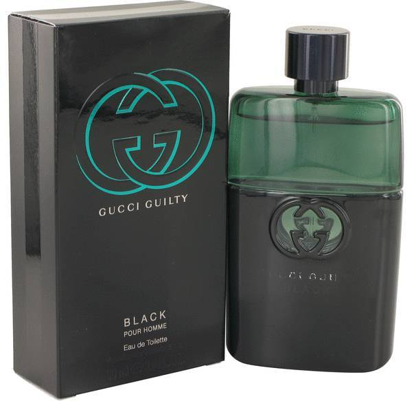Gucci Guilty Black Pour Homme 3.0 Oz Eau De Toilette Spray