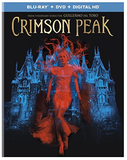 Crimson Peak [Blu-ray+DVD] (2015) New