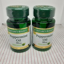 Nature's  Bounty  Peppermint Oil   (2) 50 MG 90 SOFTGELS EACH - EXP 4/22 - $24.75