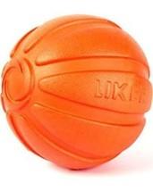 LIKER Motivation Dog Toy Fetch Small Orange Ball Interactive Training Fl... - $9.99