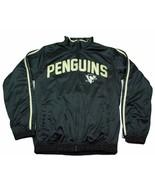 Pittsburgh Penguins G-III NHL Team Logo Full Zipper Satin Hockey Jacket - $44.99