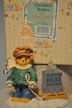 Cherished Teddies - James - 269786 - Going My Way For Holidays - Pulling... - $12.66