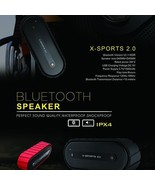 Speaker Bluetooth  Wireless, Portable Rechargeable, X-sports 2.0, Black - $37.29