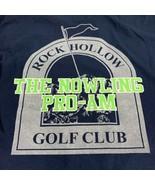 Men's Rock Hollow Golf Club LS TShirt Size XL Nowling Pro-Am Peru Indiana - $15.84