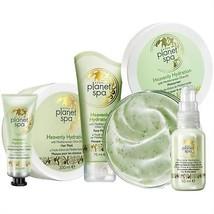 Avon Heavenly Hydration Olive Oil Set 7 pcs Body Cream + Face mask + Hai... - $49.99