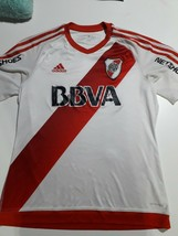 soccer jersey River Plate  Argentina 2016 M  aprox orig adidas  - $48.51