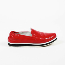 Prada Sport Patent Leather Slip on Sneakers SZ 35.5 - $160.00