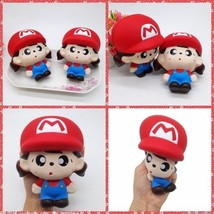New WORLD OF NINTENDO Squishy  Super Mario Squishy Boys or girls Toys Gift toys - $5.69