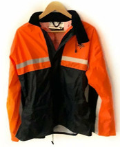 Nelson Rigg SR-6000 Waterproof Motorcycle Stormrider Orange Rain Jacket ... - $23.75