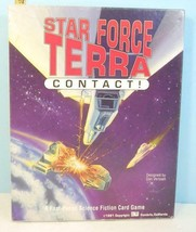 Star Force Terra #1: Contact!  Fast Paced Science Fiction Card Game 3W P... - $19.31