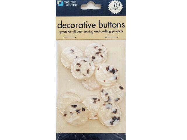 Greenbrier International Buttons, 10 Pieces #925378