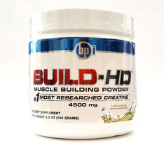 BPI Sports BUILD-HD 30 servings Lemonade Muild More Muscle Power Creatine  - $24.44