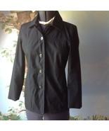Gap Women's  Long Sleeve Black Jacket Dress Coat Size 8 - $28.71