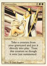Magic: The Gathering 3rd Edition - Resurrection - $0.25