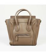 "Celine Leather Nano ""Luggage"" Tote - $1,805.00"
