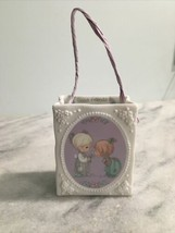 "1993 Precious Moments ""Good Friends Are Forever"" Porcelain Bag - $5.00"