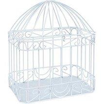 Wilton Bird Cage Style Gift Card Holder, White - $28.14