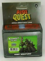 Riot Quest Gorman Mad Arena Miniature 63051 Wintertime Hobby Privateer Press NEW - $29.69