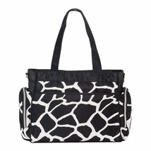 SoHo diaper bag Little Giraffe 8 pieces set nappy tote bag large capacit... - $28.39
