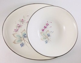 Floral Dinnerware Cottage Chic Décor Shabby & Chic Vintage Sabin platte... - $28.71