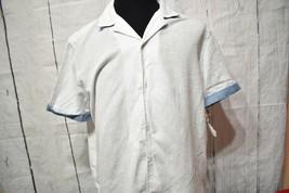 Tommy Hilfiger Men's Button Front Closure Short Sleeve T-Shirt Size L - £15.99 GBP
