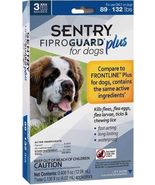 Sentry 3 Count Fiproguard Plus For Dogs Squeeze-on (89-132 pound) - $22.95