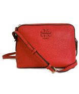 Tory Burch Taylor Crossbody ~ Brilliant Red Leather Camera Bag ~ New/NWT - $199.95