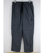 ADIDAS Essential Woven Warm Up Track Pants Lined Gray Men's Size Large N... - $29.69
