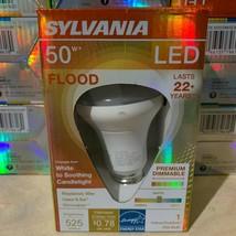 Sylvania 50 W Flood Premium Dimmable Energy Saving Led Bulbs Many Available - $5.94