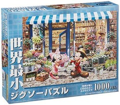 *1000 piece jigsaw puzzle Disney Minnie's flower shop the world's smalle... - $19.36