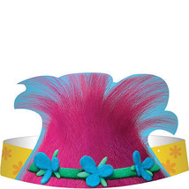 TROLLS POPPY Party Party Birthday Hats HeadBands Hair Pink Favors Birthd... - $6.73