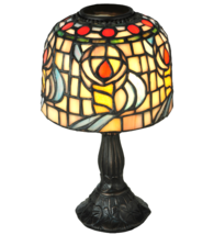 "9.25""H Tiffany Rosebud Candle Lamp - 98478 - £62.36 GBP"