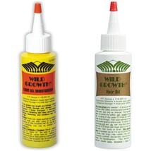 Wild Growth Hair Oil 4oz & Light Oil Moisturizer 4oz - $18.80