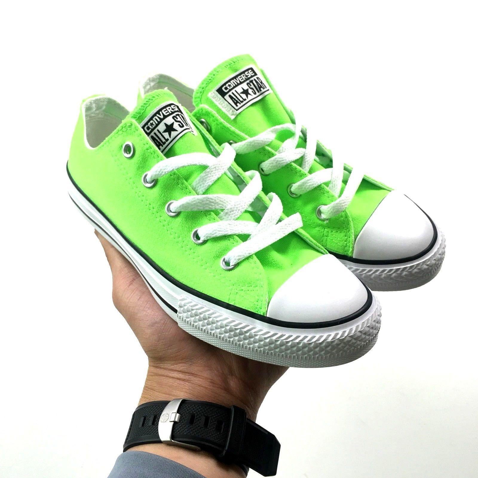 41b9c8c46f3d Converse Womens Chuck Taylor OX Green Gecko and 50 similar items