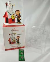 Hallmark 2017 Decked Out Doghouse Snoopy Peanuts in Box with New Batteries  - $24.70